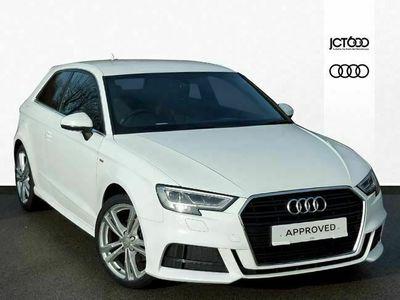used Audi A3 1.5 TFSI S Line 3dr hatchback