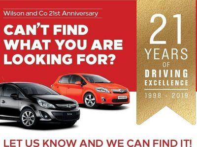 used Vauxhall Astra 1.4 SRI 5 door hatchback