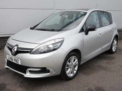 used Renault Scénic 1.5 dCi Limited Nav MPV 2016