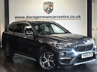 used BMW X1 2.0 SDRIVE18D XLINE 5DR 148 BHP HEATED SEATS + BLUETOOTH + DAB