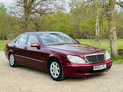 used Mercedes S320 S Class 3.2CDI 4dr