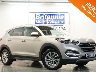 used Hyundai Tucson 1.6 GDI SE BLUE DRIVE 5 DOOR 130 BHP 1x PRIVATE OWNER / 2 SERVICE STAMPS