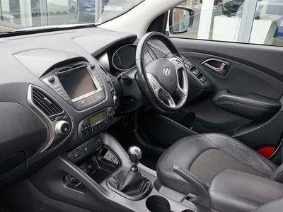 used Hyundai ix35 1.7 CRDi SE Nav Blue Drive 5dr