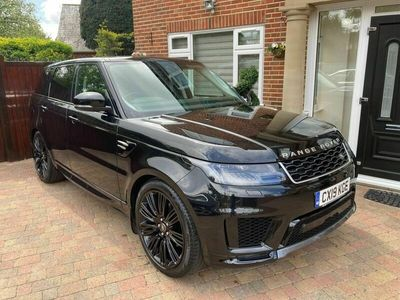used Land Rover Range Rover Sport 2.0 Si4 GPF HSE Auto 4WD (s/s) 5dr