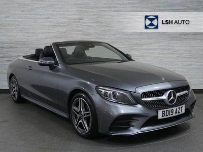 used Mercedes C200 C ClassAMG Line Premium 2dr 9G-Tronic Cabriolet