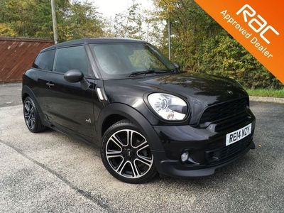 used Mini Paceman 2.0SD ALL4 3d 143 BHP *NAV * LEATHER