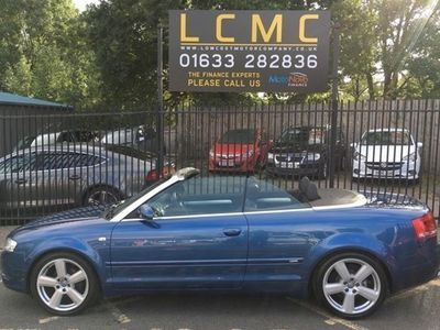 used Audi A4 Cabriolet 2.0 TDi S Line 2d Multitronic