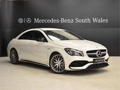 used Mercedes CLA45 AMG Cla Class 2.0SpdS DCT 4MATIC (s/s) 4dr