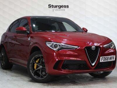 used Alfa Romeo Stelvio 2.9 V6 Bi-Turbo Quadrifoglio Auto Q4 AWD s/s 5dr