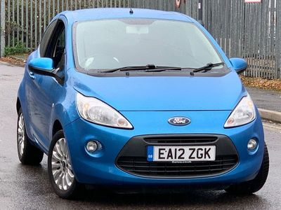 used Ford Ka 1.2 Zetec (s/s) 3dr