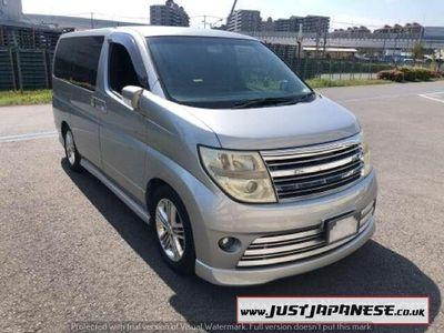 used Nissan Elgrand E51 3.5 RIDER S AUTECH, KY0 Silver, Black Interior, Fresh Import, 8 Seater