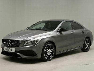 used Mercedes CLA220 CLA ClassAMG Line 4dr Tip Auto For Sale Reg:LR18 TNE