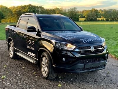 used Ssangyong Musso Musso Brand NewRebel Auto with apple play heated seats and rev cam CHEAPEST IN UK.