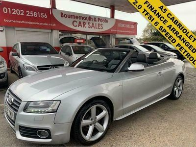 used Audi A5 Cabriolet 2.0T FSI S Line (Start Stop) 2d