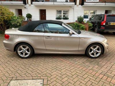 used BMW 120 Cabriolet