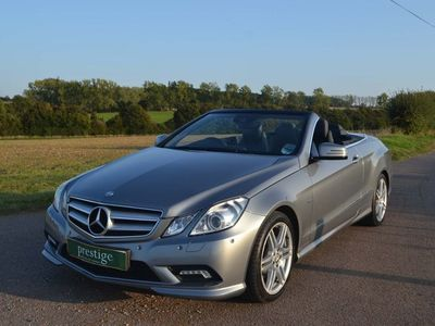 used Mercedes E220 E Class 2.1CDI BlueEFFICIENCY Sport Edition 125 Cabriolet 7G-Tronic Plus (s/s) 2dr