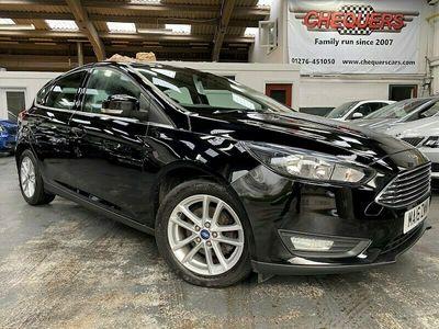 used Ford Focus Zetec Hatchback 2016