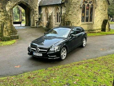 used Mercedes CLS250 CLSCDI BLUEEFFICIENCY AMG SPORT 2.2 5dr