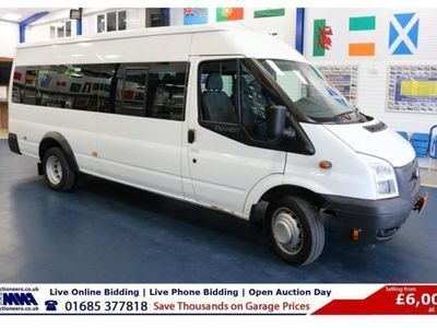 used Ford Transit T430 2.2TDCI 135PS 17 SEAT MINIBUS (GUIDE PRICE), 2014, not known, 101000 miles.