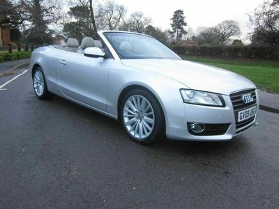 used Audi A5 Cabriolet Cabriolet 2.0 TFSI SE Multitronic 2dr