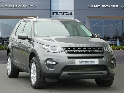 used Land Rover Discovery Sport 2.2 Sd4 Se Tech 5Dr Auto
