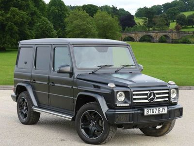 used Mercedes G350 G ClassNight Edition 5dr Tip Auto SUV 2017