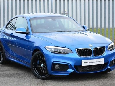 used BMW 225 2 Series D M Sport 2Dr Step Auto [Nav]