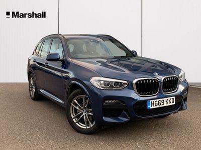 used BMW X3 xDrive20i M Sport 5dr Step Auto