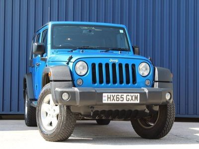 used Jeep Wrangler 3.6 5dr
