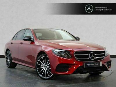 used Mercedes E400 E-Class SaloonAMG Line Night Edition Premium Plus 4MATIC 2.9 4dr