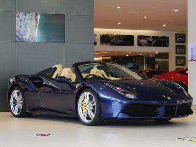 used Ferrari 488 Spider convertible