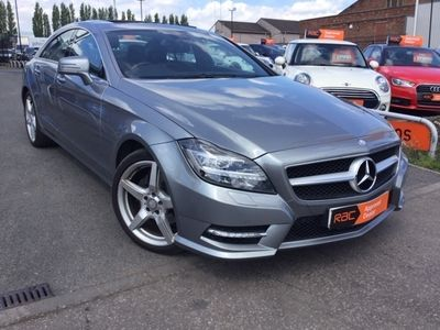 used Mercedes CLS250 CDI BlueEFFICIENCY AMG Sport 4dr Tip Auto