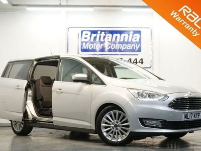 used Ford Grand C-Max 1.0 TITANIUM TOP LUXURY SPEC 7 SEATER 125 BHP 1x PRIVATE OWNER / 3 SERVICE 5dr