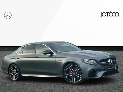 used Mercedes E63S AMG E Class4Matic+ Premium 4dr 9G-Tronic amg saloon