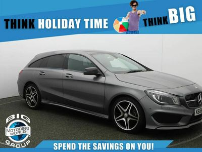 used Mercedes CLA180 Shooting Brake CLA 1.6 AMG Sport (122ps) (s/s) 5d 7G-DCT