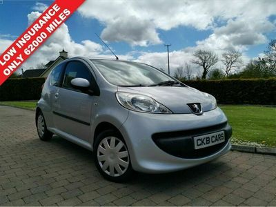 used Peugeot 107 1.0 URBAN 3d 68 BHP LOW MILES + CHEAP INSURANCE