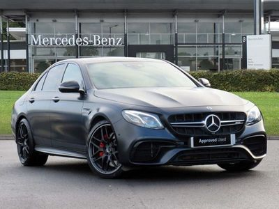 used Mercedes E63S AMG E CLASS AMG4Matic+ Edition 1 4dr 9G-Tronic Automatic amg saloon special edition