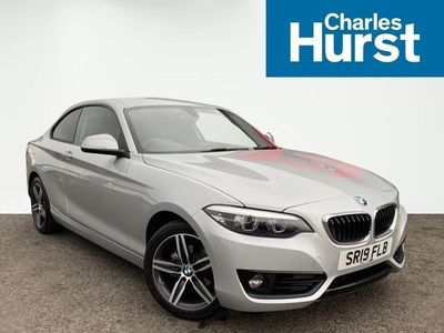used BMW 218 2 SERIES 2019 Craigavon I Sport 2Dr [Nav]