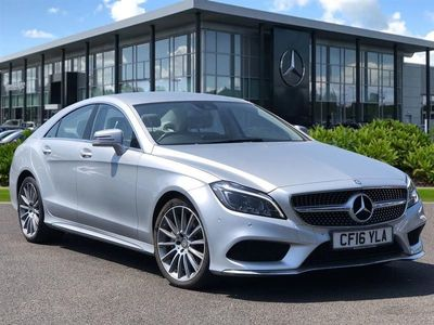 used Mercedes CLS350 CLS ClassAmg Line 4Dr 9G-Tronic Coupe 2016