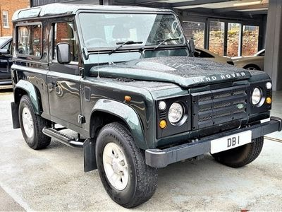 used Land Rover Defender 2.4 90 COUNTY STATION WAGON 3d 122 BHP