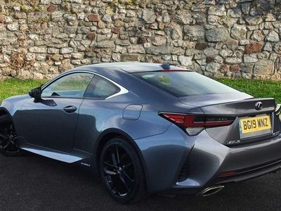 used Lexus RC300h 2.5 2dr CVT Coupe 2019