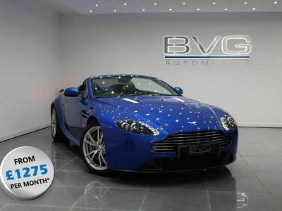 used Aston Martin V8 Vantage 4.7Roadster Sportshift II 2dr (EU6)