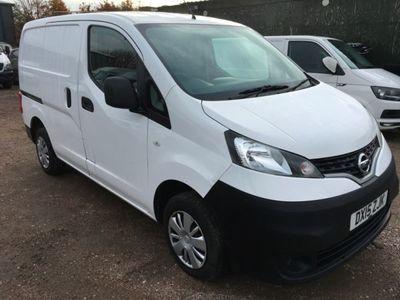 used Nissan NV200 1.5 dCi Acenta Van, 2015, Van, 66000 miles.