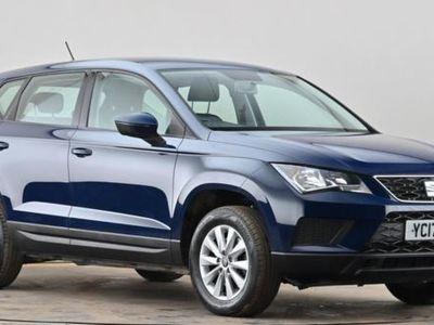 used Seat Ateca 1.0 TSI Ecomotive S 5dr Blue Manual Petrol