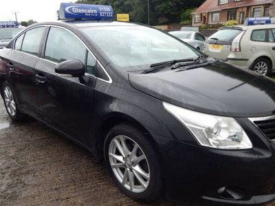 used Toyota Avensis PETROL MANUAL SALOON 4 DOORS