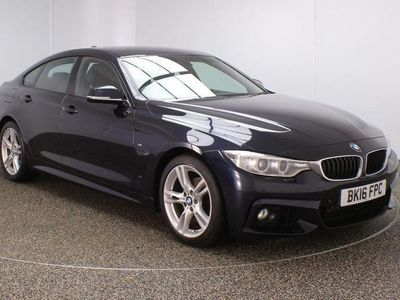 used BMW 418 Gran Coupé 4 Series 2.0 D M SPORT 4DR 1 OWNER AUTO 148 BHP Coupe 2016