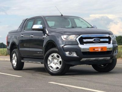 used Ford Ranger 2.2 LIMITED 4X4 DCB TDCI 4d AUTO 148 BHP