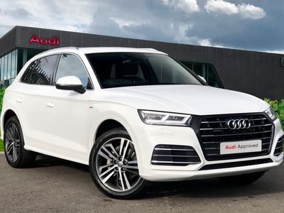 used Audi Q5 S line Competition 55 TFSI e quattro 367 PS S tronic