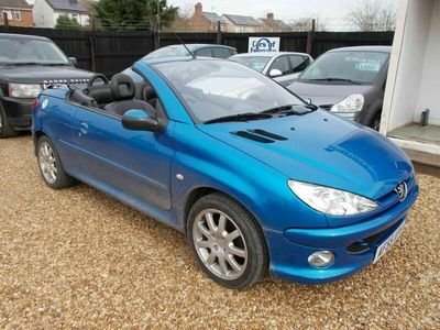 used Peugeot 206 CC 1.6 HDi Allure 2dr