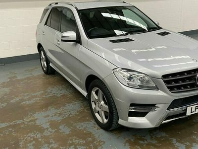 used Mercedes ML250 M CLASSCDi BlueTEC AMG Sport 5dr Auto Silver Automatic Diesel